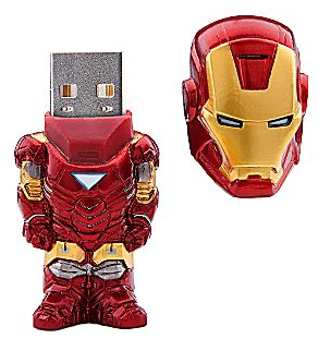 Iron Man USB drive.