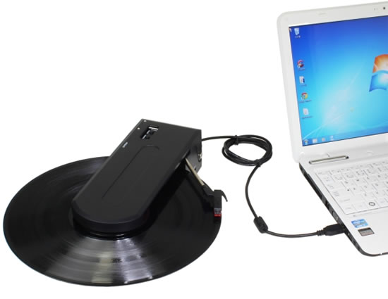 Evergreen-portable-USB-record-player-PC